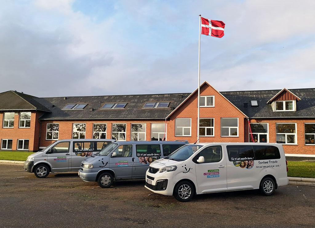 Skolebusserne Skovlund friskole
